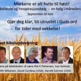 BLI MED PÅ LØRDAGSBIBELSKOLEN!
